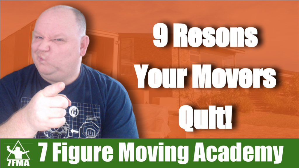 9 reasons your movers quit