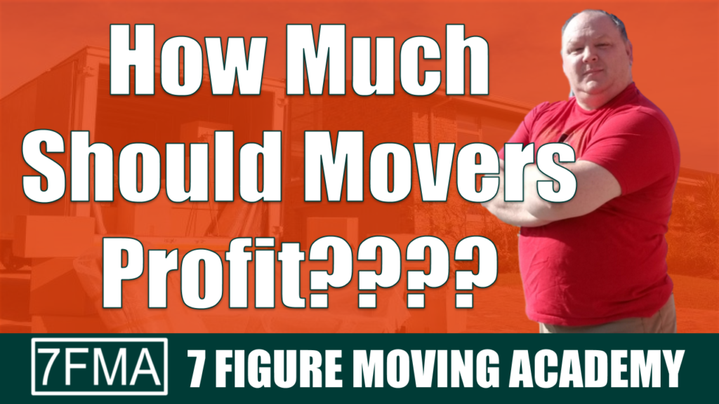 how much should movers profit